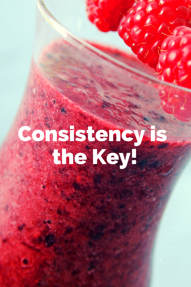 The Secret to Success, Consistency!